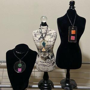 Jewelry - Handcrafted/Handmade Resin Necklace Pendants